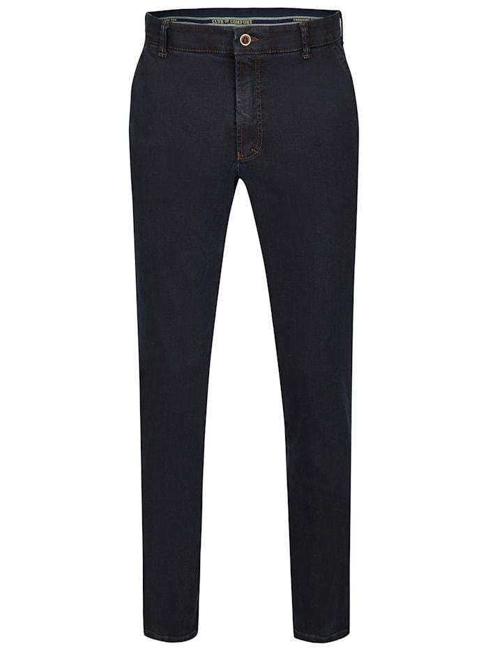 Club of Comfort Jeans Garvey mit elastischem Komfortbund, dunkelblau