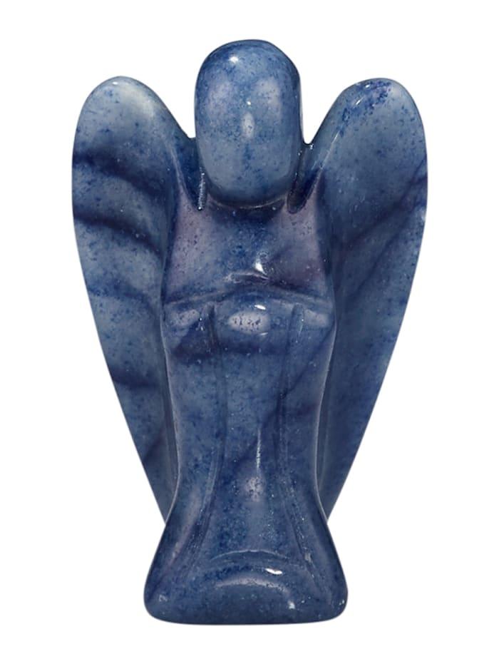 Engel Figur, Blau