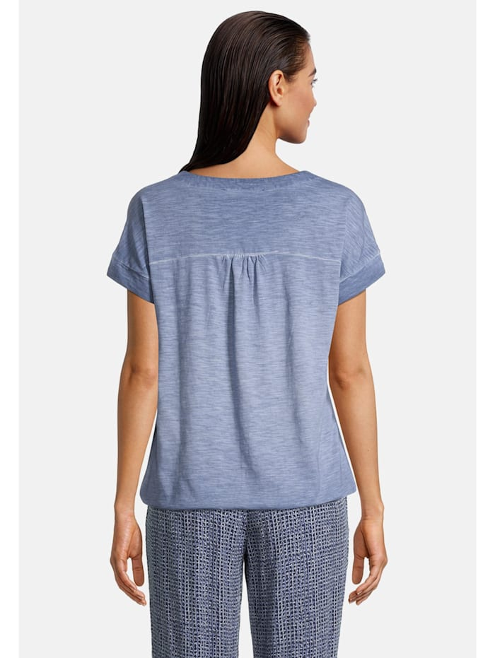 Casual-Shirt mit Gummizug