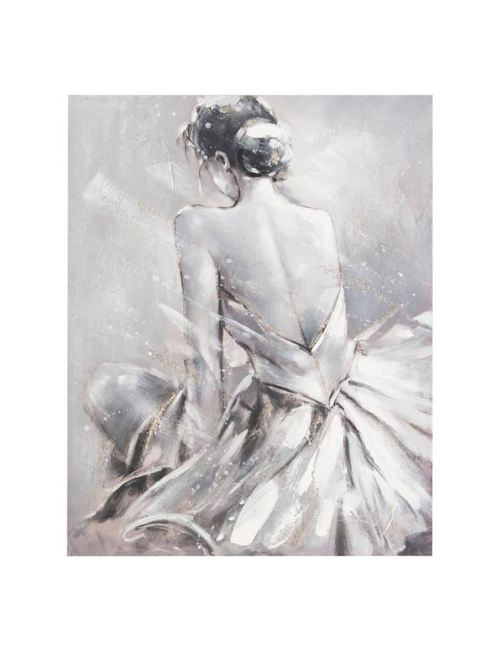 MARAVILLA Bild, Ballerina, grau
