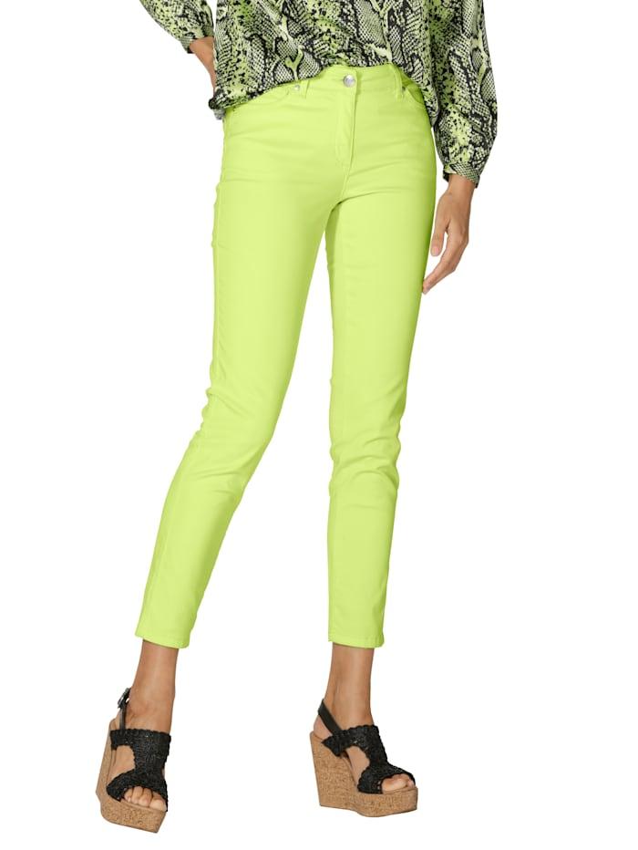 AMY VERMONT Hose in angesagten Farben, Neongrün