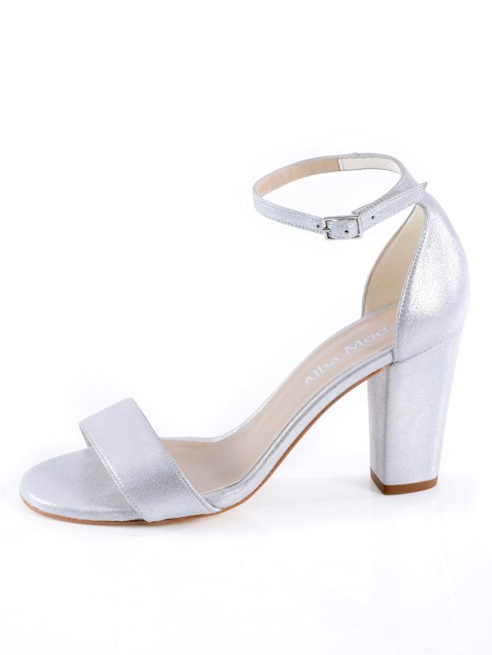 Sandaaltje van hoogwaardig geitenleer