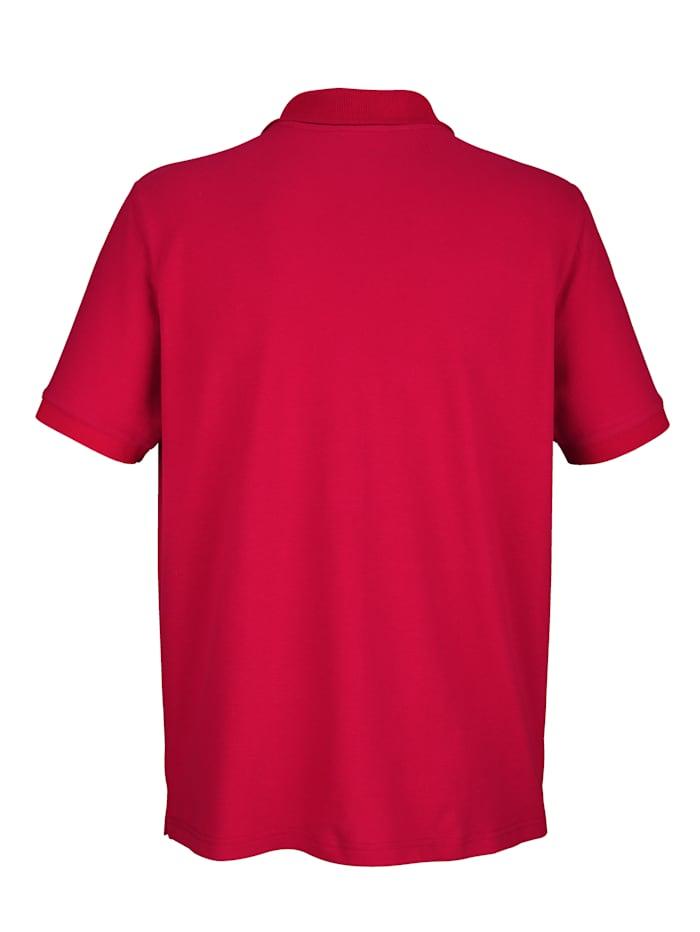 Poloshirt mit Druck auf Brust