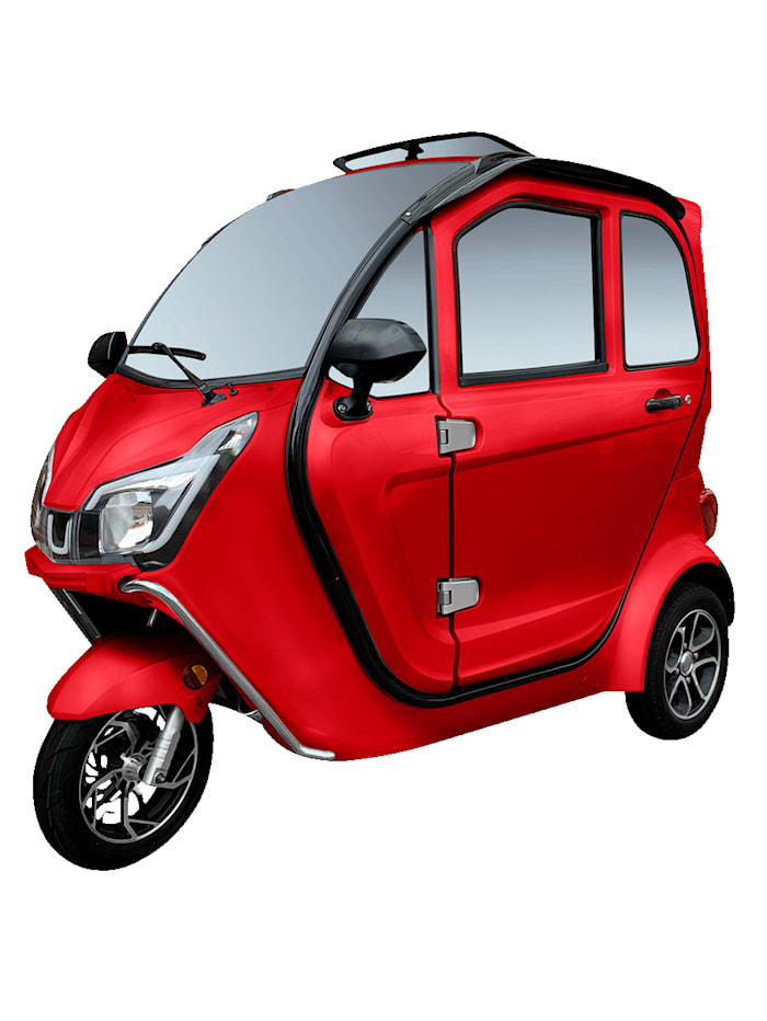 ECABINO 3-Rad eLizzy Premium 25 km/h Mit Vor-Ort-Einweisung, rot