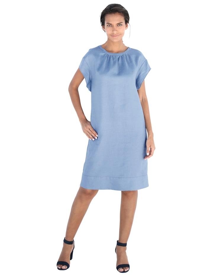 APART Kleid aus reiner Leinen-Qualität, Hellblau