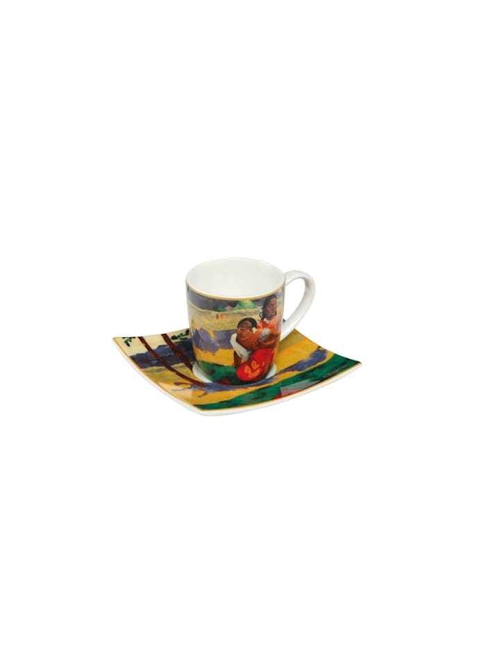 Goebel Goebel Espressotasse Paul Gauguin - Wann heiratest Du?, Gaugin - Wann heiratest du