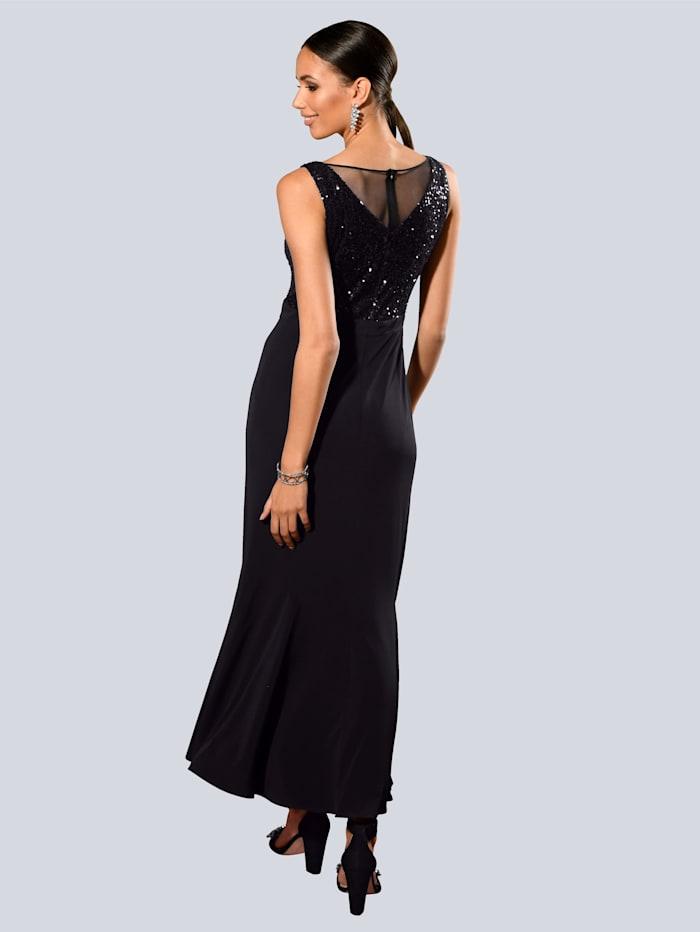 Kleid mit edlen Pailletten am Oberteil
