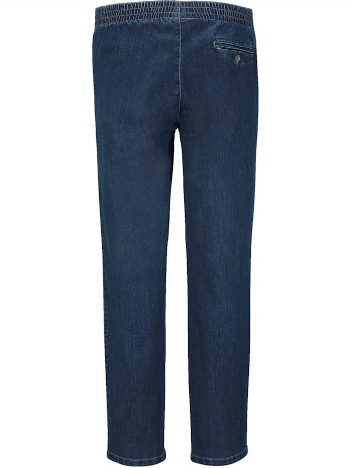 Jeans met elastische band rondom