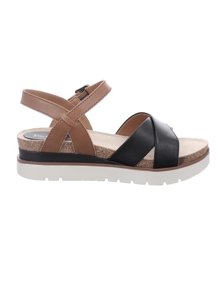 Damen-Sandale Clea 10, schwarz-kombi
