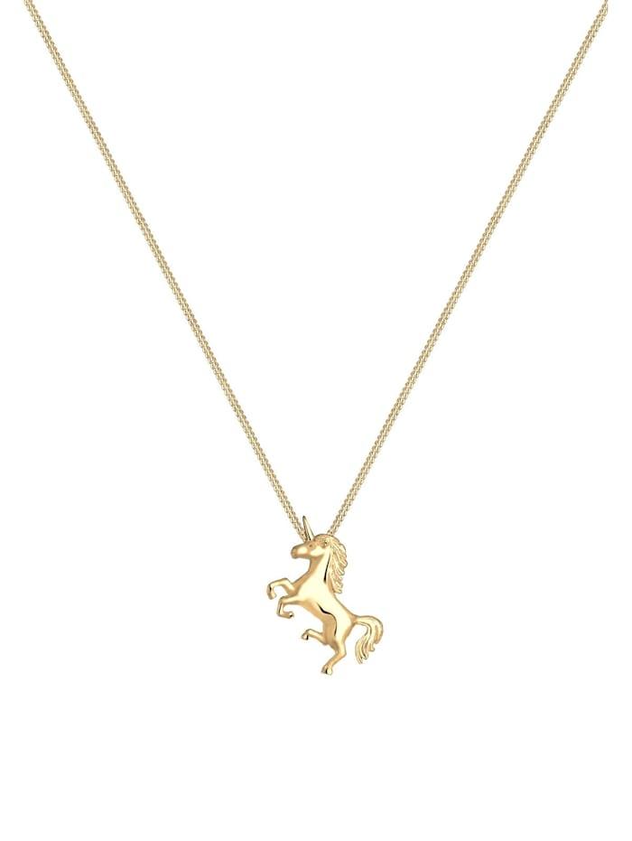Halskette Einhorn Unicorn Magic 925 Sterling Silber