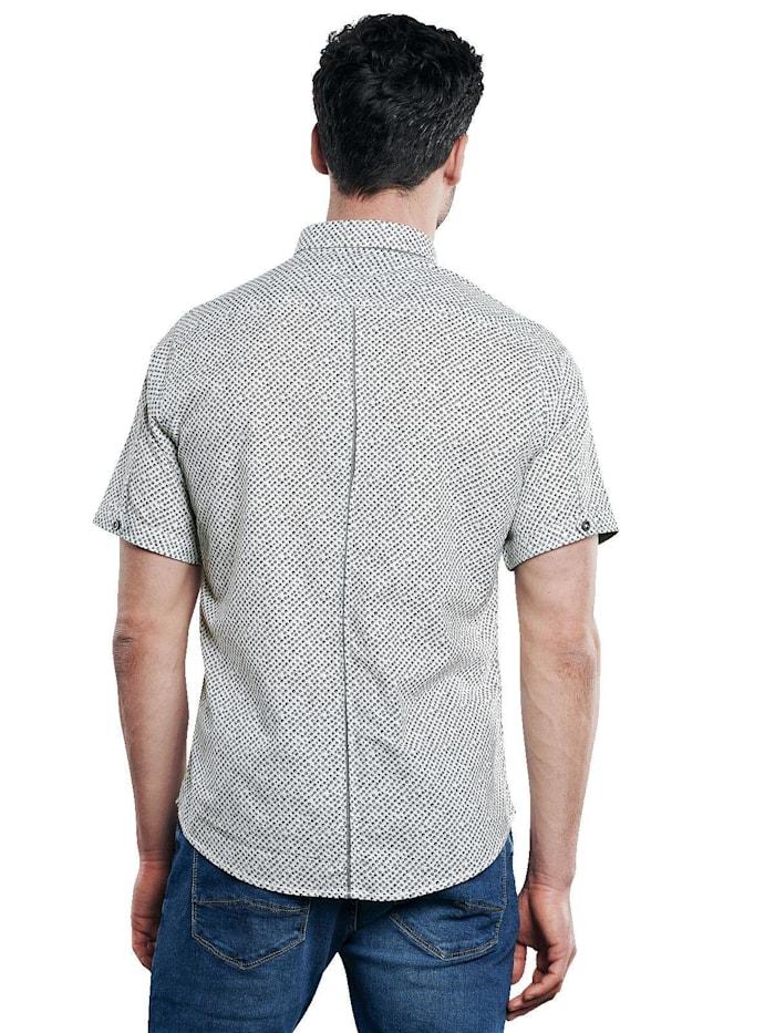 Stretch Hemd mit Kontrastdetails