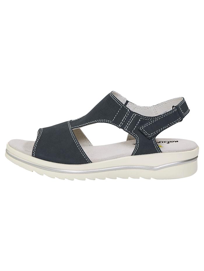 Sandale mit Elasteinsatz
