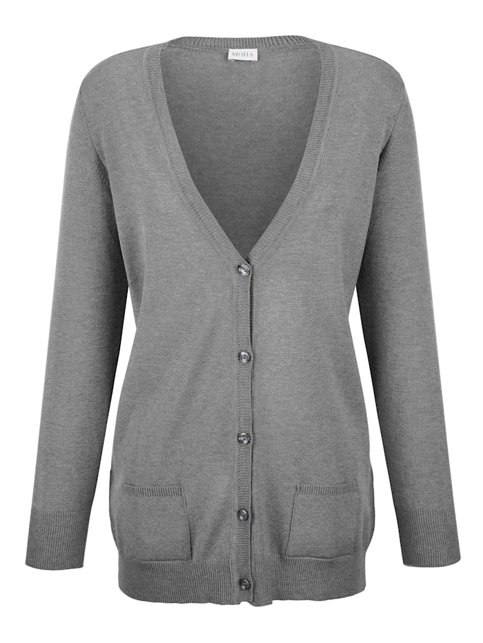 Cardigan made from a super soft fabric