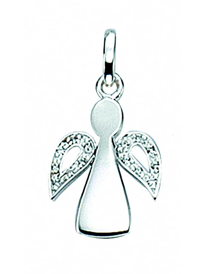 1001 Diamonds Damen Silberschmuck 925 Silber Charms Anhänger Engel mit Zirkonia, silber