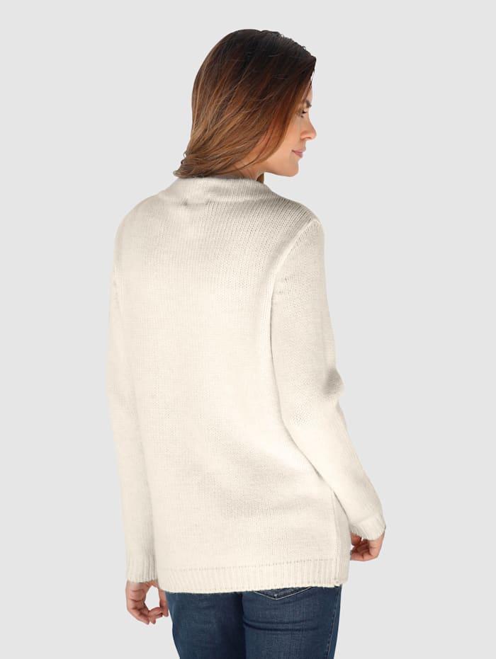 Pullover in schöner Melange-Qualität
