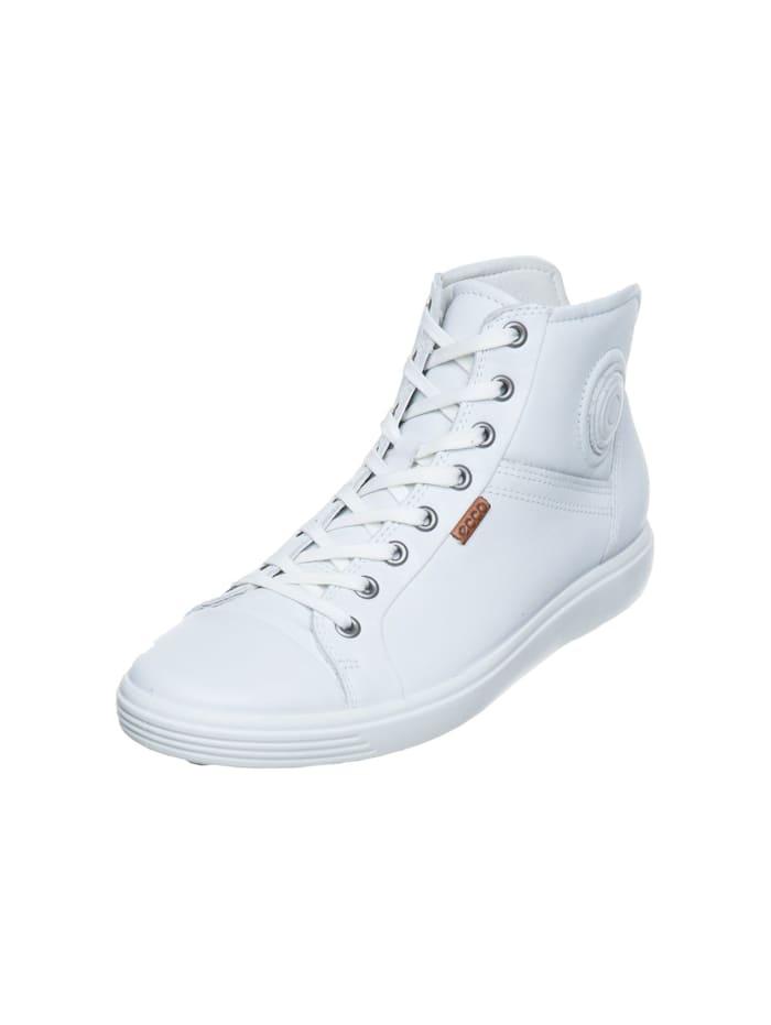 Ecco Damen Stiefelette in weiß, weiß