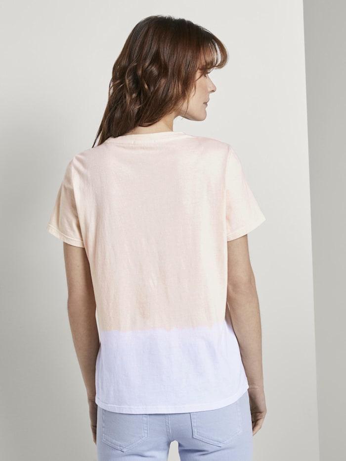 Nena & Larissa: T-Shirt mit Batik-Look