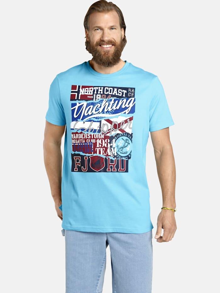Jan Vanderstorm Jan Vanderstorm T-Shirt TAGE, hellblau