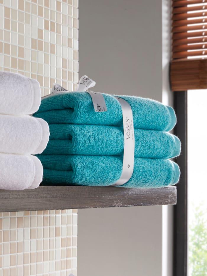 Vossen Frottierwaren 'Smart Towel', petrol