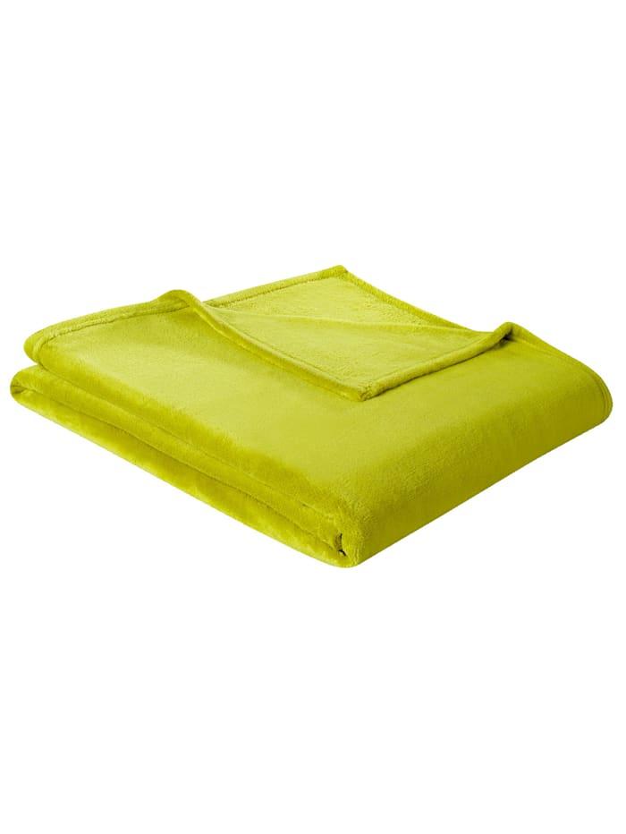 biederlack Wohndecke 'Soft & Cover', Grün