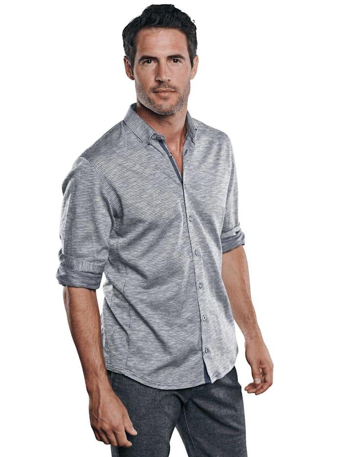 Engbers Stylisches Langarmhemd, Marineblau