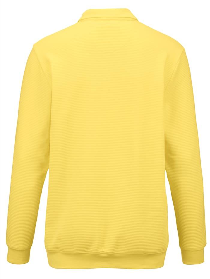 Sweatshirt mit auffällig schöner Streifen-Struktur