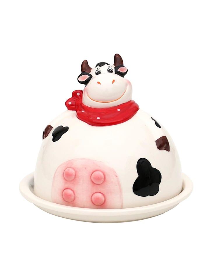 Sigro Dolomite Butterdose Kuh, Mehrfarbig
