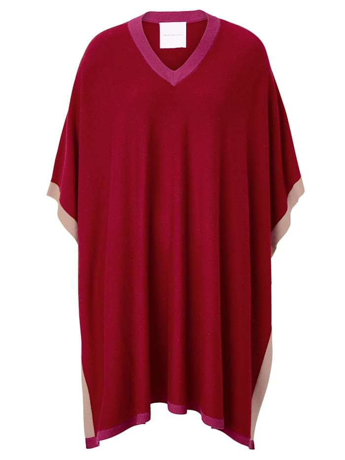 delicate love Poncho, Rot