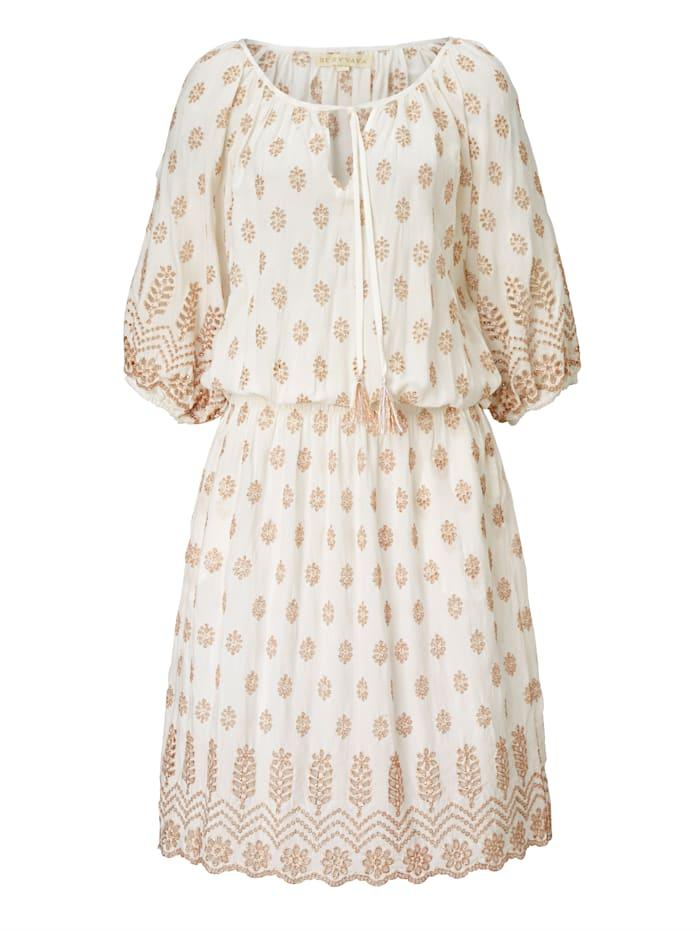 Ruby Yaya Strandkleid, Creme-Weiß