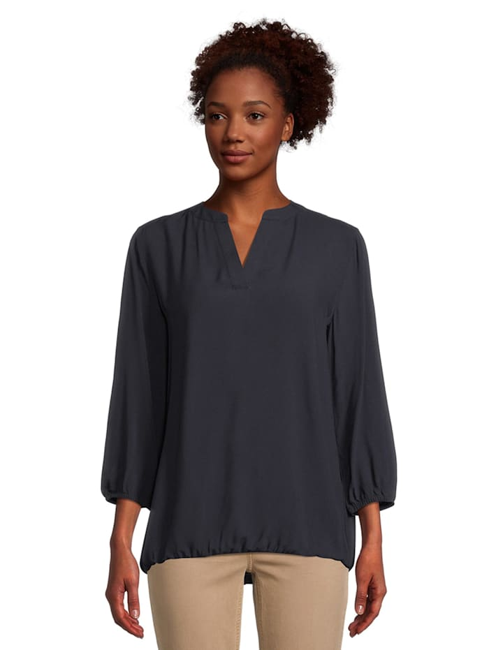 Casual-Bluse langarm Muster