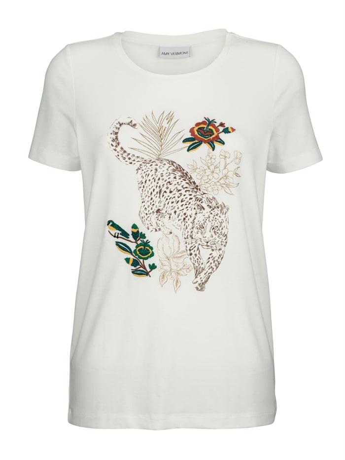 Shirt met animalprint