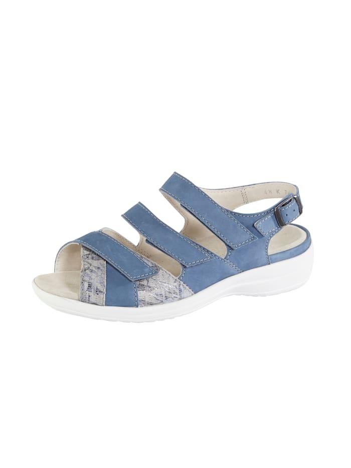 Ströber Sandale, Blau