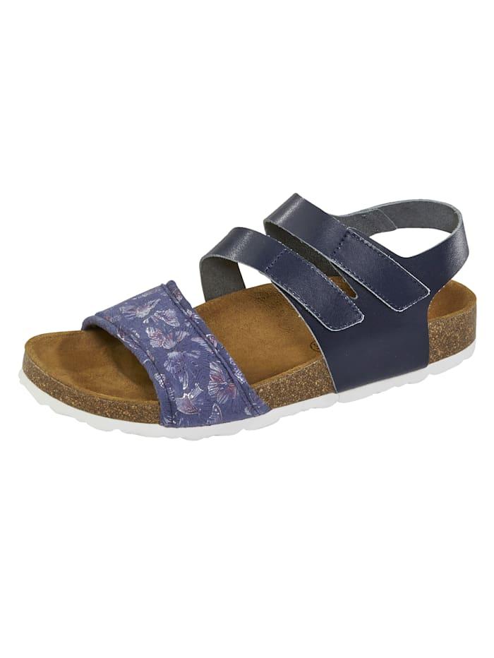 Naturläufer Sandales, Bleu