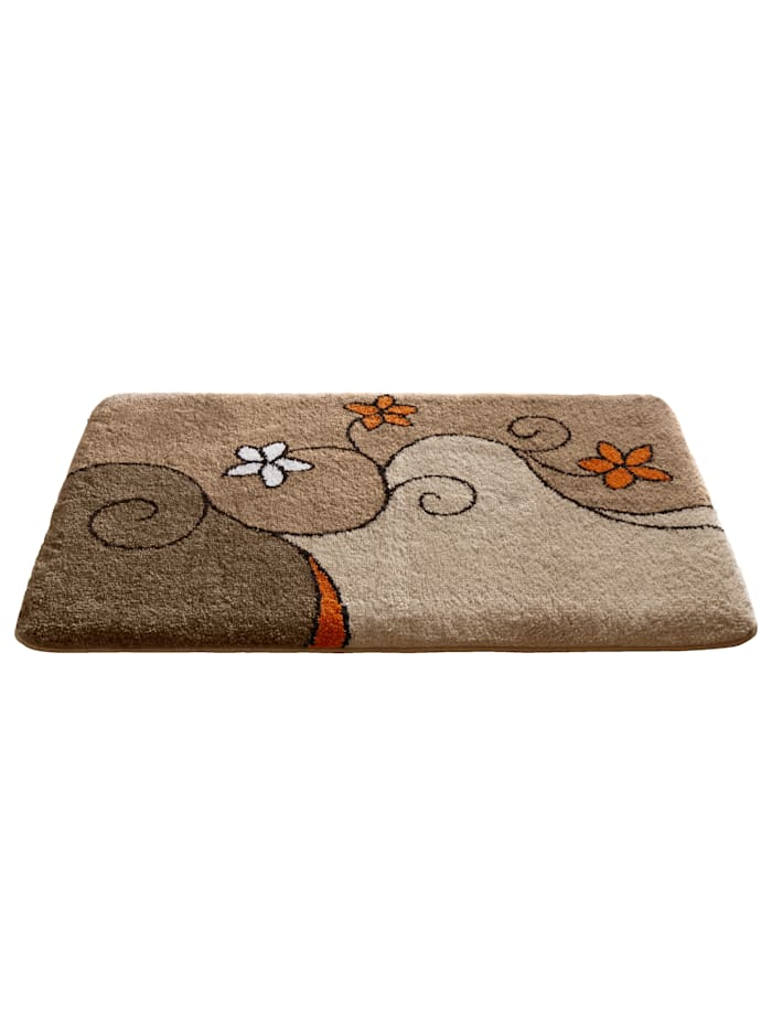 Grund Bademattenserie 'Nadja, beige/orange