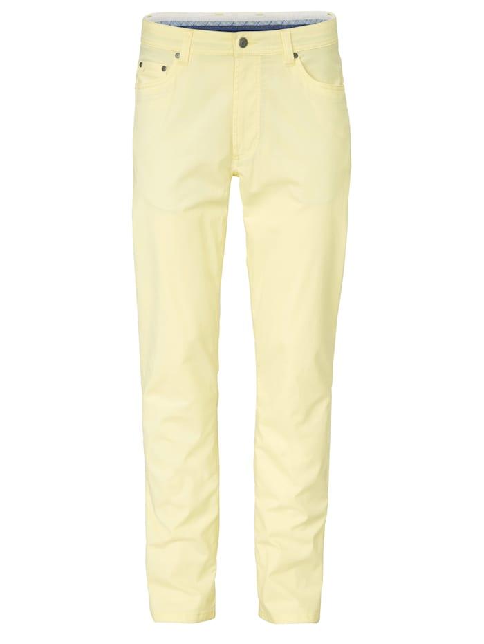 BABISTA Pantalon en matière estivale légère, Jaune