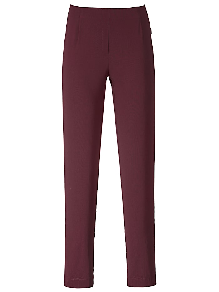 Pull-on trousers with a touch of stretch