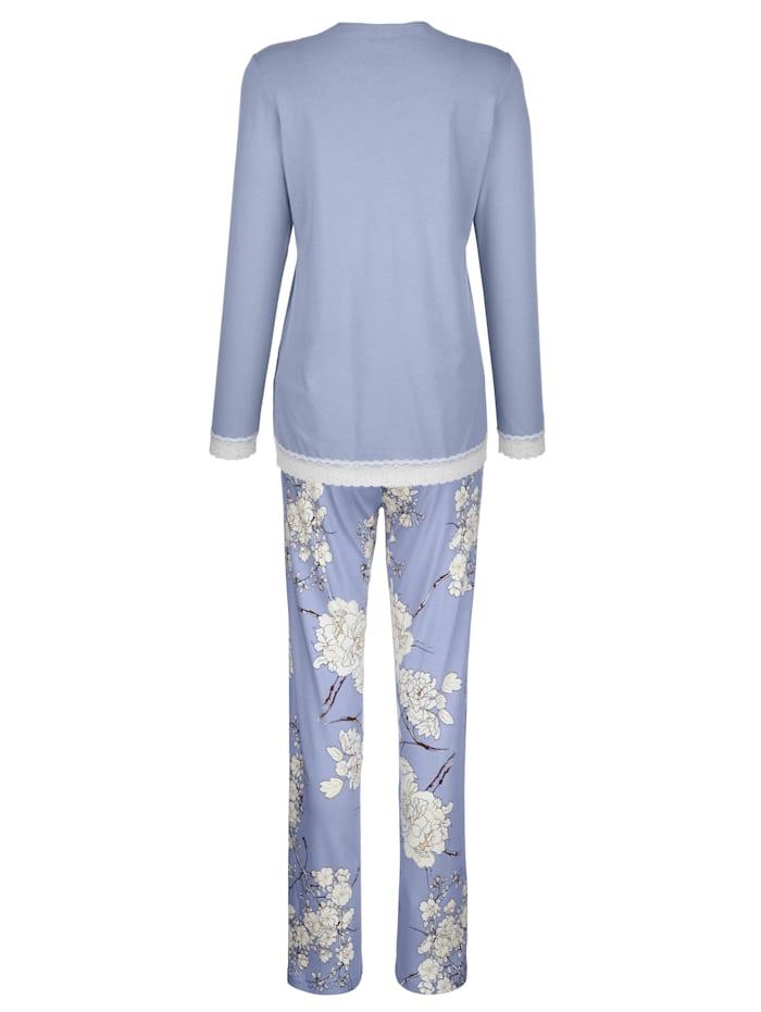 Pyjama avec dentelle