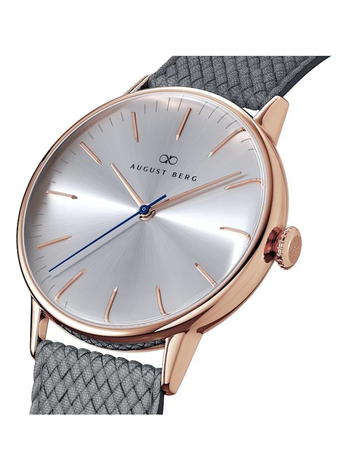 Uhr Serenity Simply Warm Grey Perlon 40mm