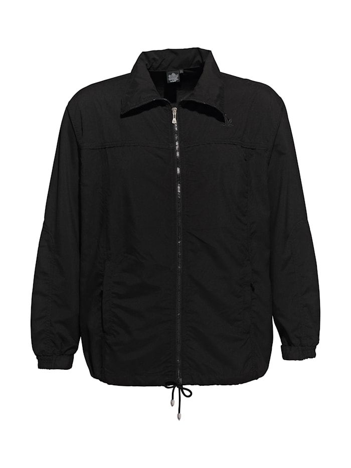 Ahorn Sportswear Trainingsjacke mit Kordelzug, black