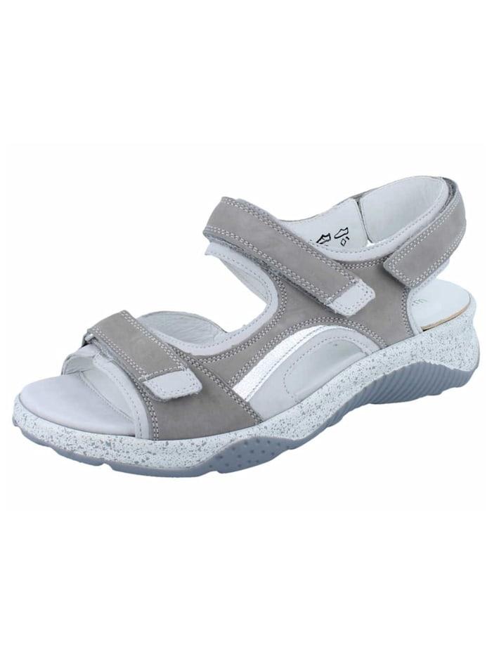 Waldläufer Sandale Sandale, grau