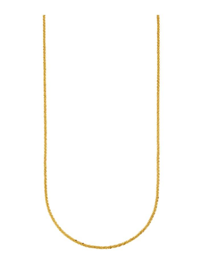 Criss-Cross Kette, Gelbgoldfarben