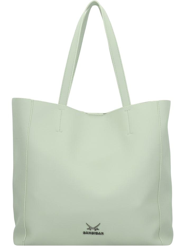 Sansibar Shopper Tasche 34 cm, mint