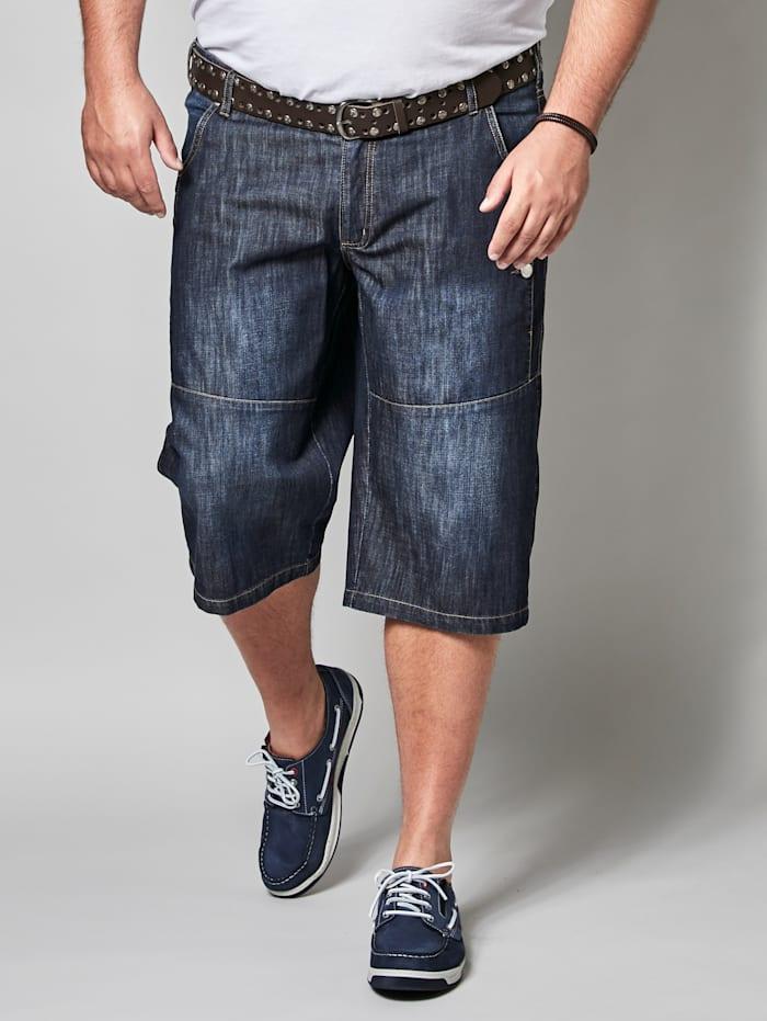 Men Plus Bermuda in speciaal model, Dark blue