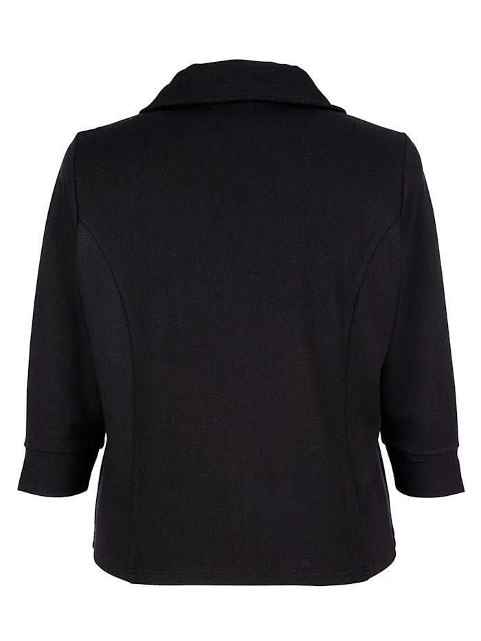 Veste molletonnée de coupe courte très actuelle