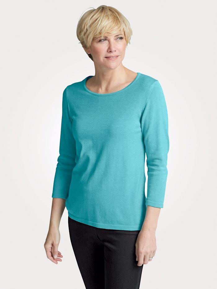 MONA Pullover in Traumhaft-Qualität, Türkis