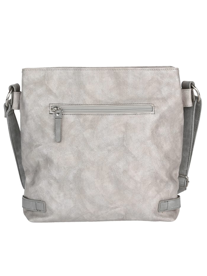 Shoulder bag with harmonious glitter effect