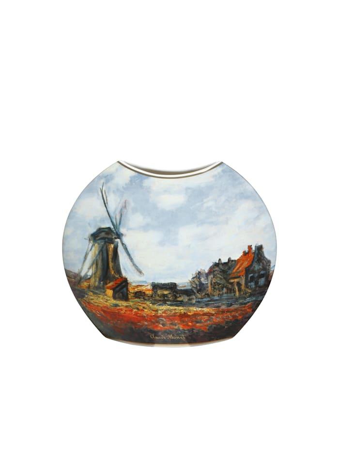 Goebel Vase Claude Monet - Mohnfeld / Tulpenfeld