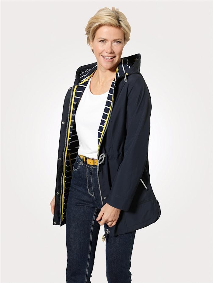 MONA Jacke mit Wetterschutz-Funktion, Marineblau