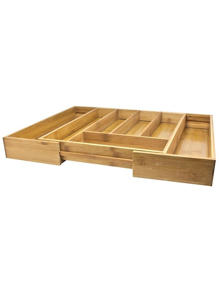 Neuetischkultur Besteckaufbewahrungsbox Bambus, Natur