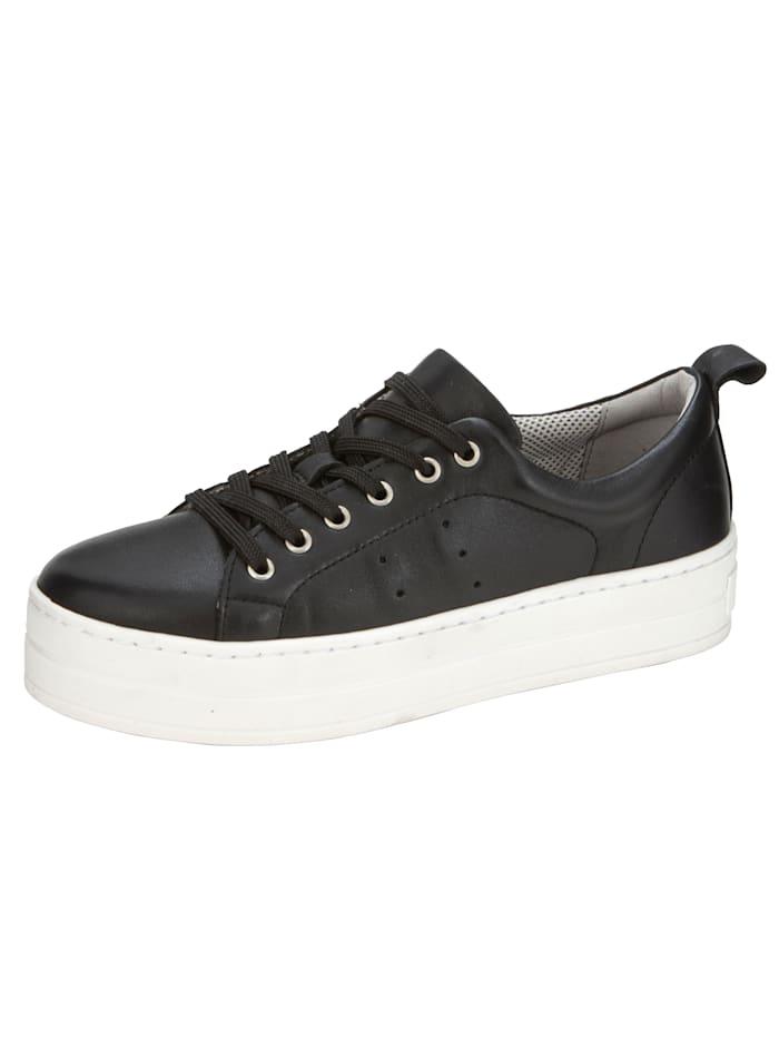 Liva Loop Sneakers à plateau au look très tendance, Noir